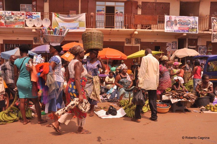Cosa vedere in Ghana Togo e Benin i mercati frutta e verdura