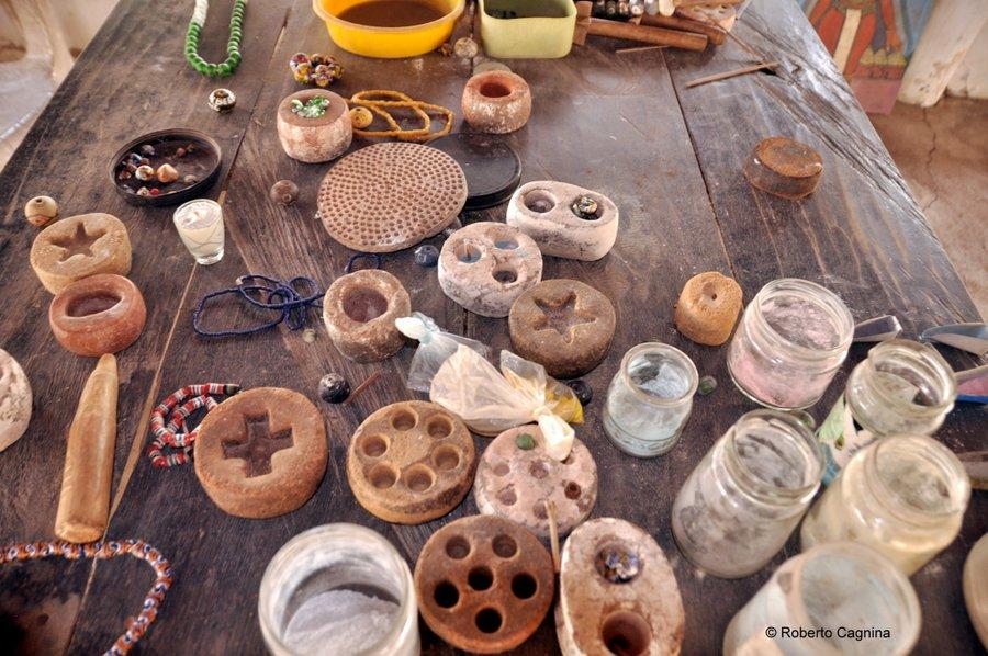 Cosa vedere in Ghana Togo e Benin murrine in vetro