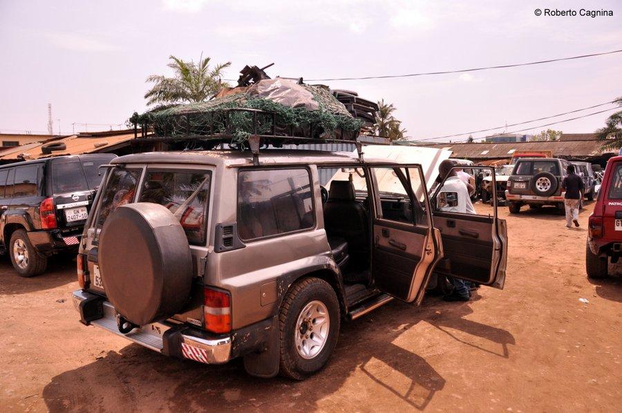 Organizzare il viaggio in Ghana Togo e Benin mezzi di trasporto