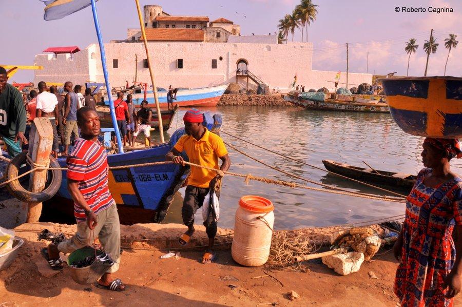 Organizzare il viaggio in Ghana Togo e Benin mercati del pesce