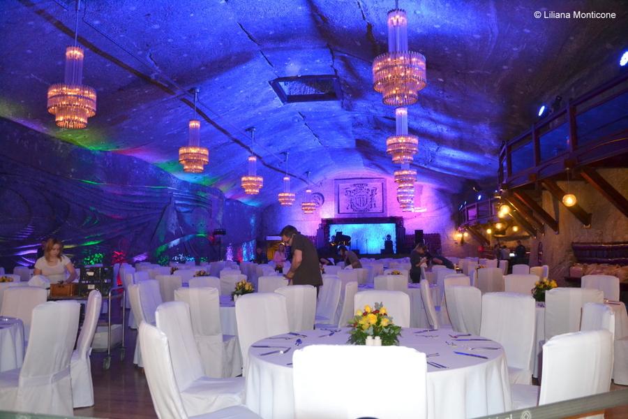 Visitare la miniera di sale Wieliczka Cracovia Polonia salone matrimoni