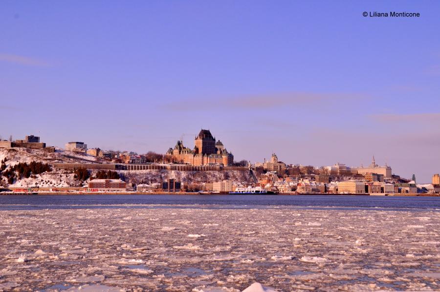 Canada on the road in inverno quebec city traghetto capodanno