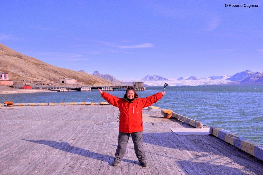 Escursioni alle Isole Svalbard Pyramiden il porto