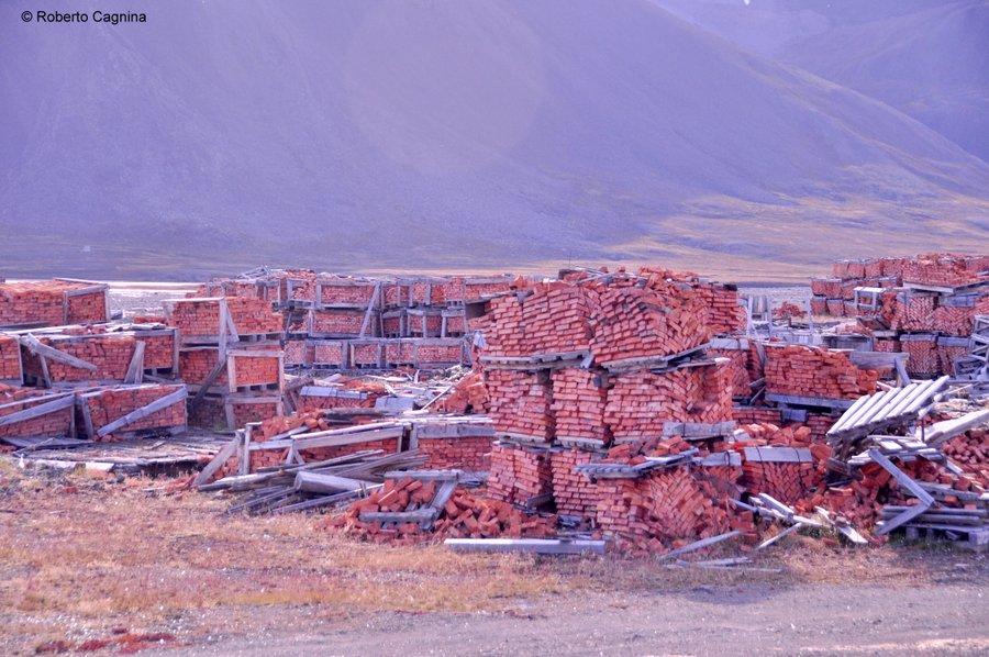 Escursioni alle Isole Svalbard Pyramiden città fantasma