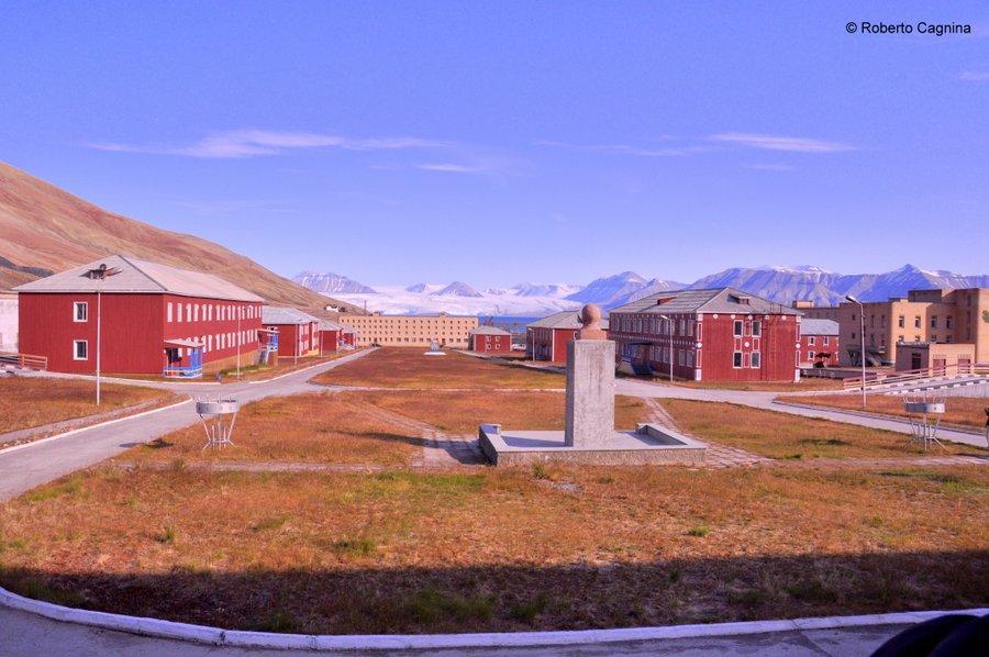 Escursioni alle Isole Svalbard Pyramiden Champs Elysées