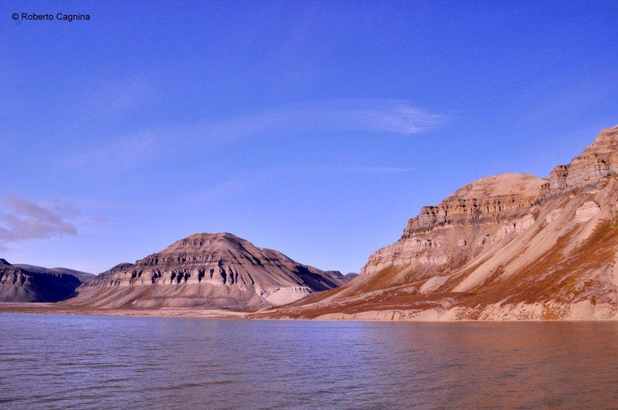 Escursioni alle Isole Svalbard Pyramiden panorami