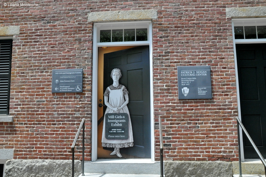 Protagonista la storia a Lowell in Massachusetts museo