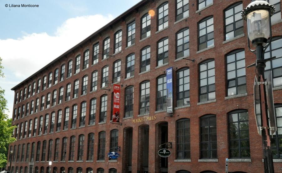 Protagonista la storia a Lowell in Massachusetts fabbricati industriali