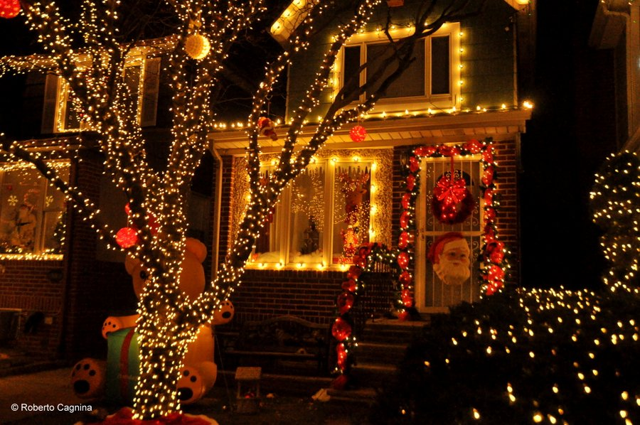 Tour delle luci di Natale a New York Dyker Heights