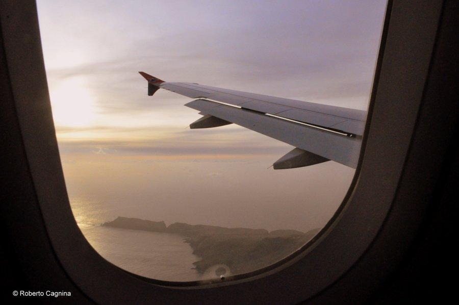 paradiso alle isole faroe in volo