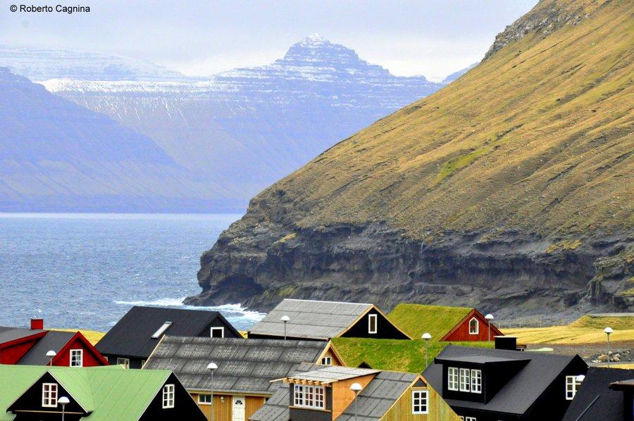 paradiso alle isole faroe villaggi