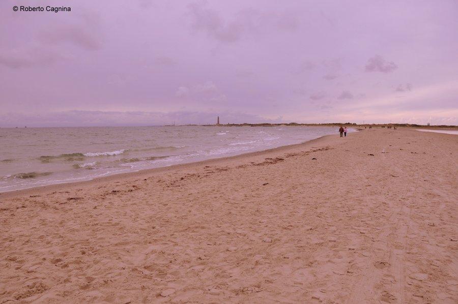 skagen danimarca mari si scontrano ma non si mischiano spiaggia