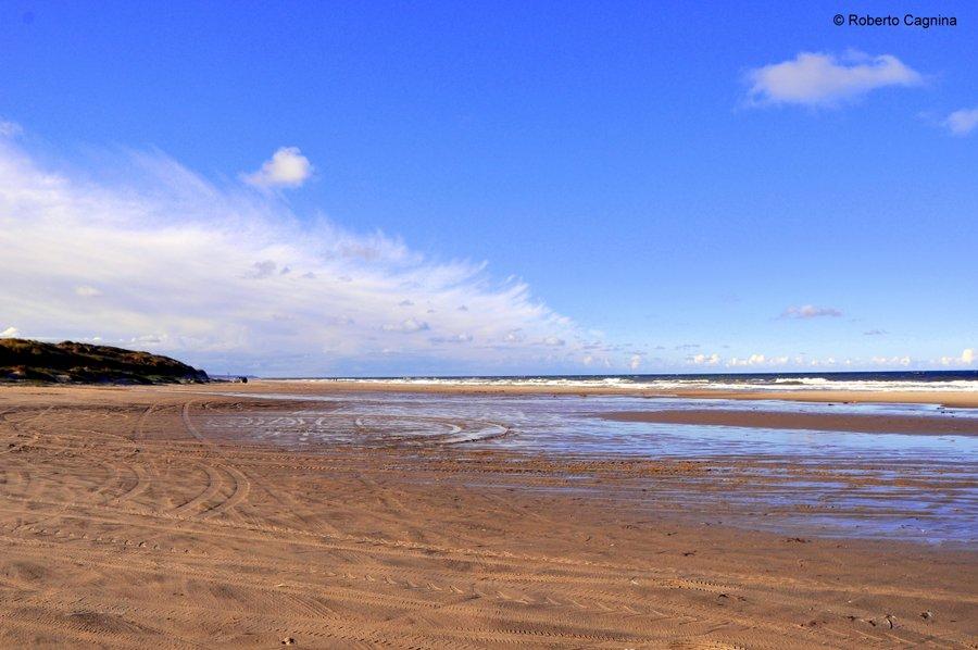 skagen danimarca mari si scontrano ma non si mischiano lunghissime spiagge