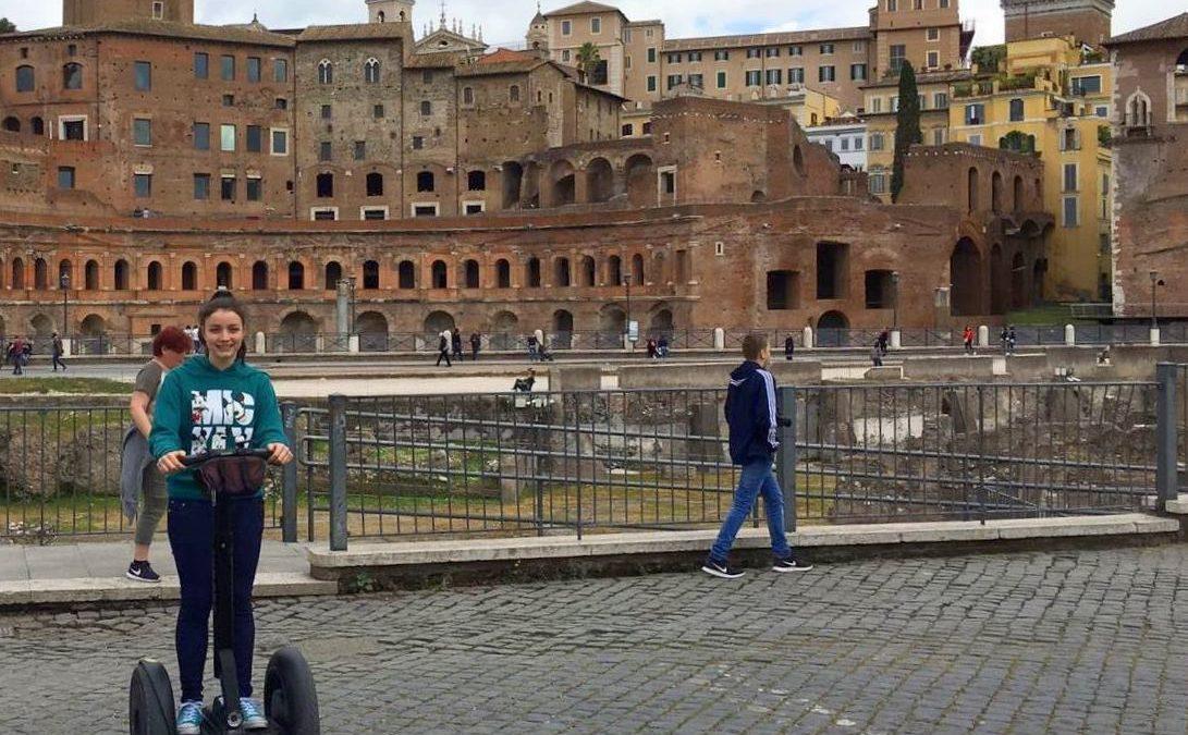 segway a roma istruzioni per l'uso percorsi romani