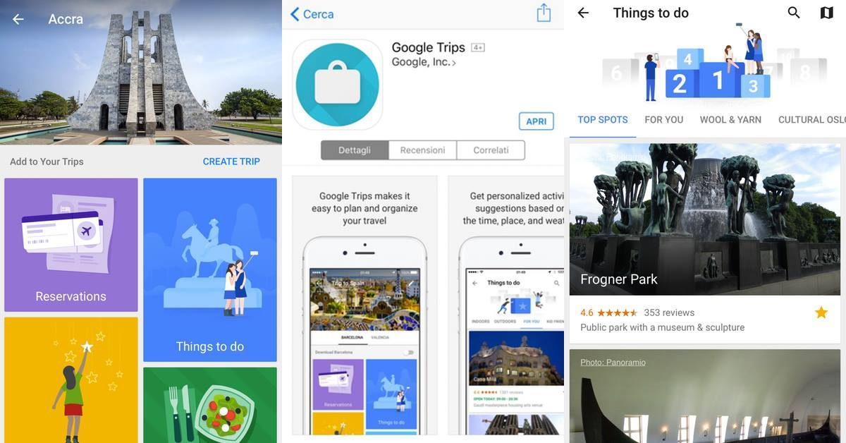 Google Trips to plan your travel
