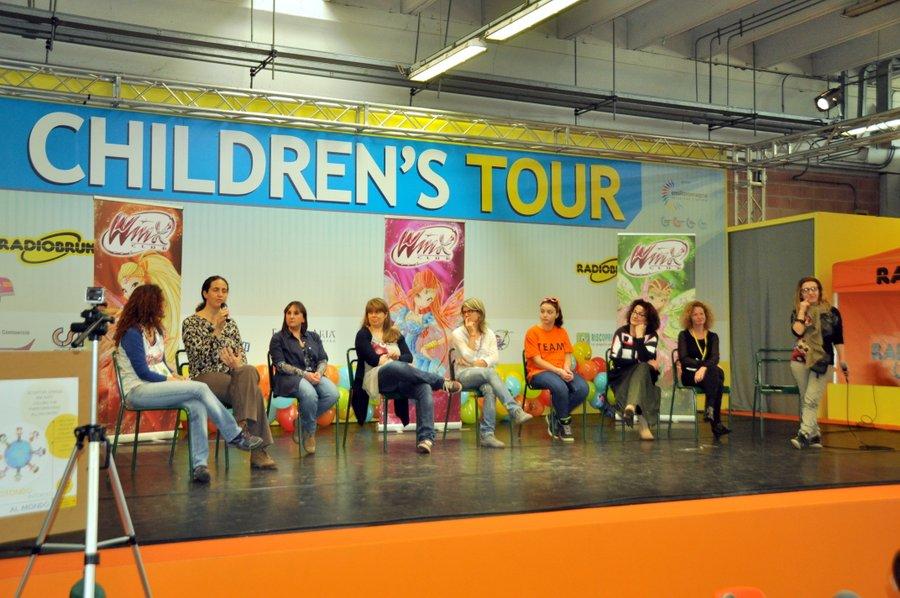 L'intervento di Valeria Cagnina alla Fiera di Modena Children's Tour