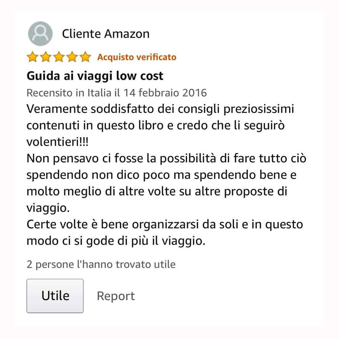 recensione 4 amazon guida viaggi low cost liliana monticone